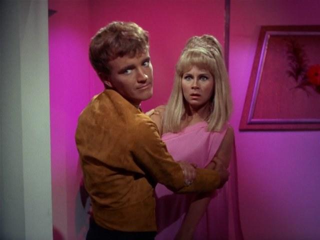 """Grace Lee Whitney w serialu """"Star Trek"""" /materiały prasowe"""