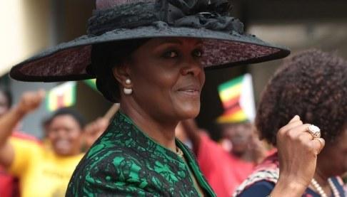 Grace Mugabe /AARON UFUMELI /PAP/EPA