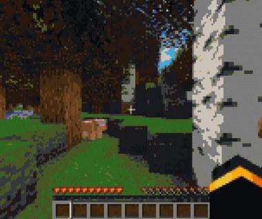 Gracz odpalił Minecrafta w Minecrafcie