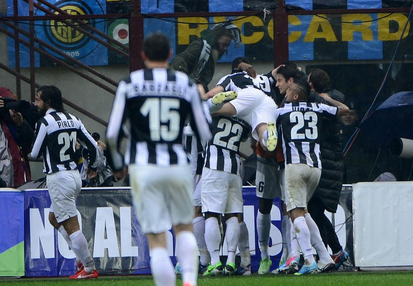 Gracze Juventusu mieli powody do radości /AFP