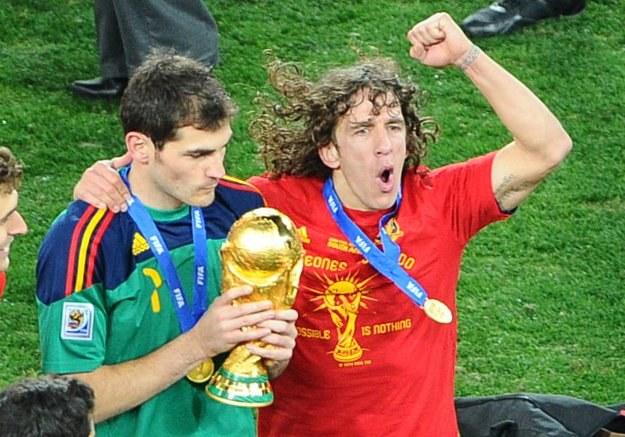 Gracze Realu Madryt i Barcelony stanowią o sile reprezentacji Hiszpanii /AFP