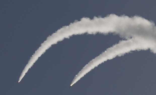 Grad rakiet nad Izraelem. Zobacz, jak działa Iron Dome [WIDEO]