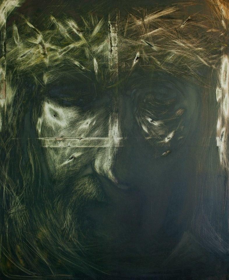 """Grafika """"Ecce Homo""""                          autor: Jacek Hajnos /INTERIA.PL"""