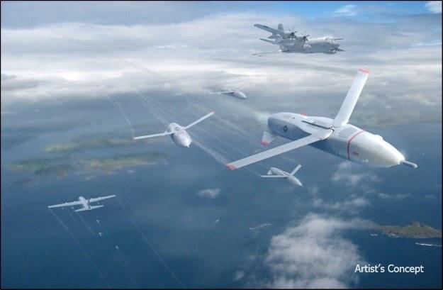 Grafika ilustracyjna - tak mogłyby wyglądać Gremliny zaprojektowane przez DARPA /materiały prasowe