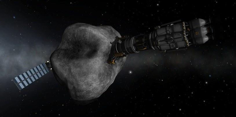 Grafika prezentująca wizję górnictwa kosmicznego. Fot. Inverse /materiały prasowe