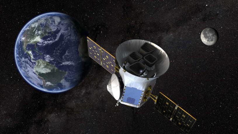 Grafika przedstawiająca TESS /NASA