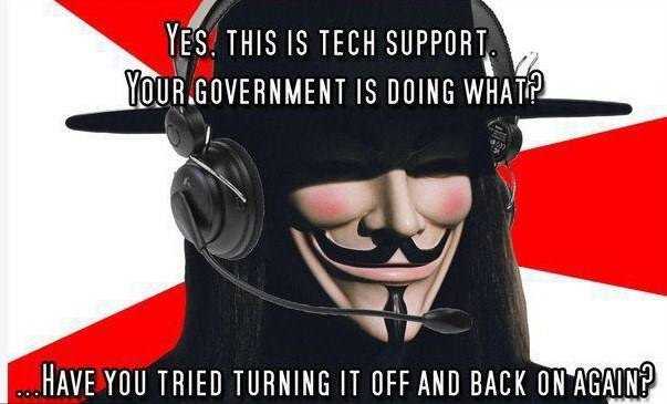 Grafika z profilu Anonymous na Facebooku /