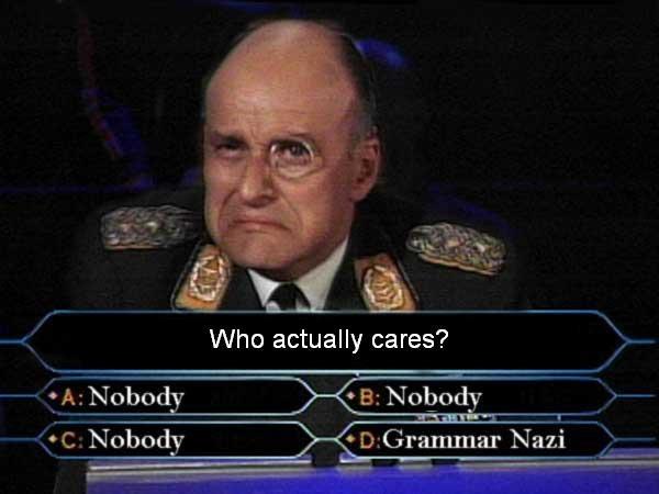 Grammar Nazi - czy jedynie im zależy na poprawności języka ojczystego? /YouTube