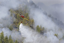 Gran Canaria: Potężny pożar lasu