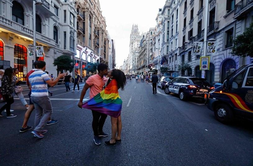 Gran Via w Madrycie /AFP