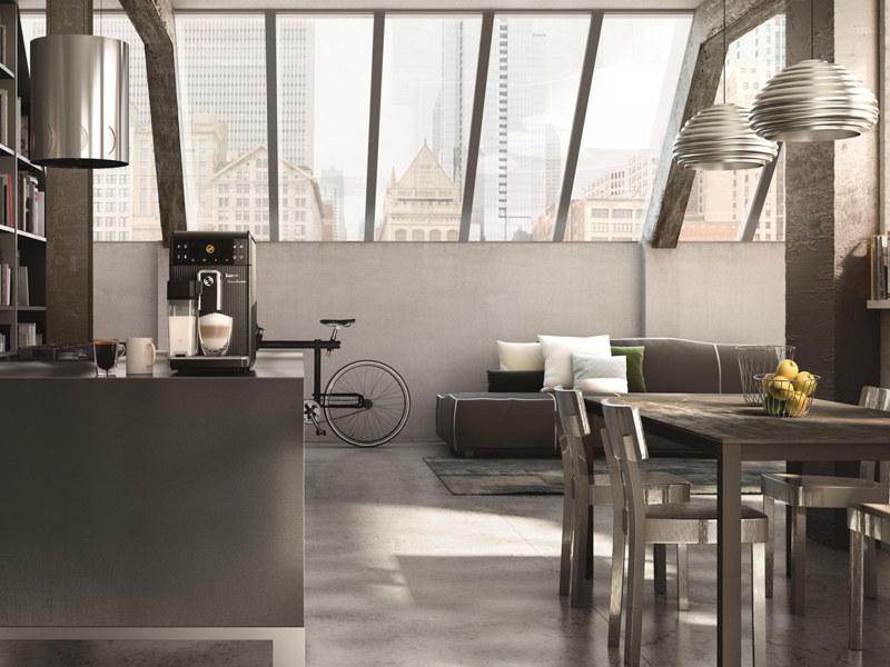 GranBaristo nie tylko parzy pyszną kawę, ale też pięknie komponuje się w domu /materiały prasowe