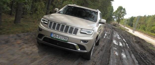 Grand Cherokee 3.0 CRD mimo dobrego wyniku wymaga ponad 2 l/100 km więcej niż mały SUV. /Motor