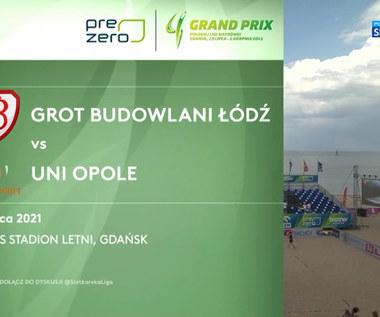 Grand Prix siatkarek 2021. Grot Budowlani Łódź – UNI Opole 2:1. Skrót meczu (POLSAT SPORT). Wideo
