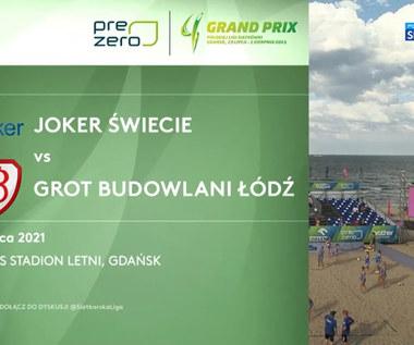 Grand Prix siatkarek 2021. Joker Świecie – Grot Budowlani Łódź 2:0. Skrót meczu (POLSAT SPORT). Wideo