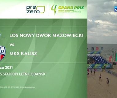 Grand Prix siatkarek 2021. LOS Nowy Dwór Mazowiecki – MKS Kalisz 2:1. Skrót meczu (POLSAT SPORT). Wideo