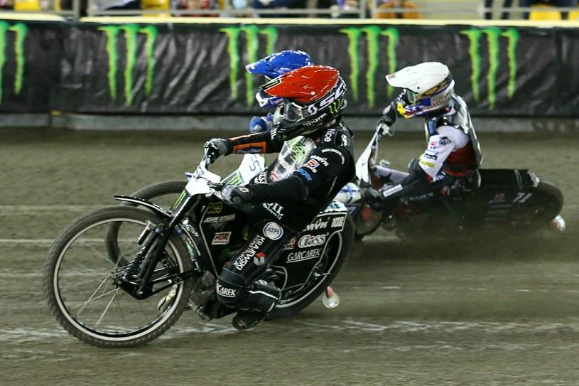 Grand Prix. Tai Woffinden kontra Leon Madsen i Maciej Janowski /Jarosław Pabijan /Newspix