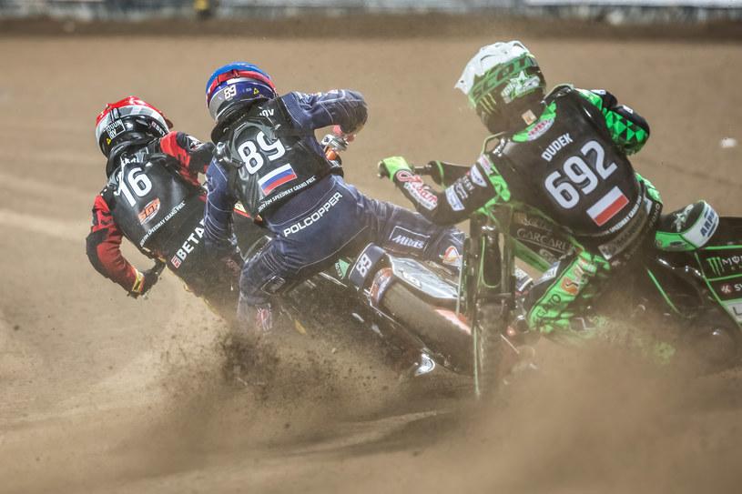 Grand Prix we Wrocławiu: Gleb Czugunow, Emil Sajfutdinow, Patryk Dudek /Marcin Karczewski /Newspix