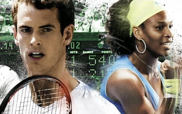 Grand Slam Tennis - motyw graficzny /Informacja prasowa
