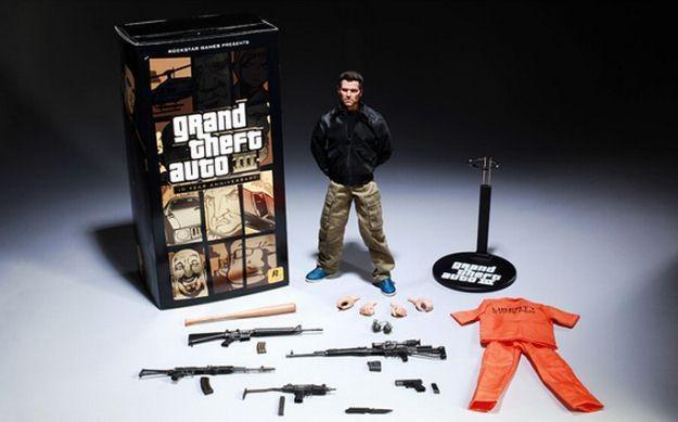 Grand Theft Auto III + mobilny zestaw na 10. urodziny gry /Informacja prasowa