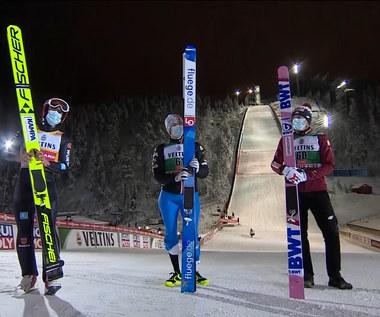 Granderud zwycięzcą, Kubacki trzeci. Oto skoki najlepszych podczas niedzielnego konkursu w Kuusamo. Wideo