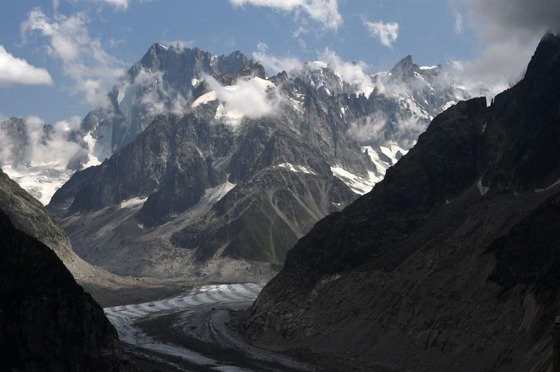 Grandes Jorasses w masywie Mont Blanc /AFP