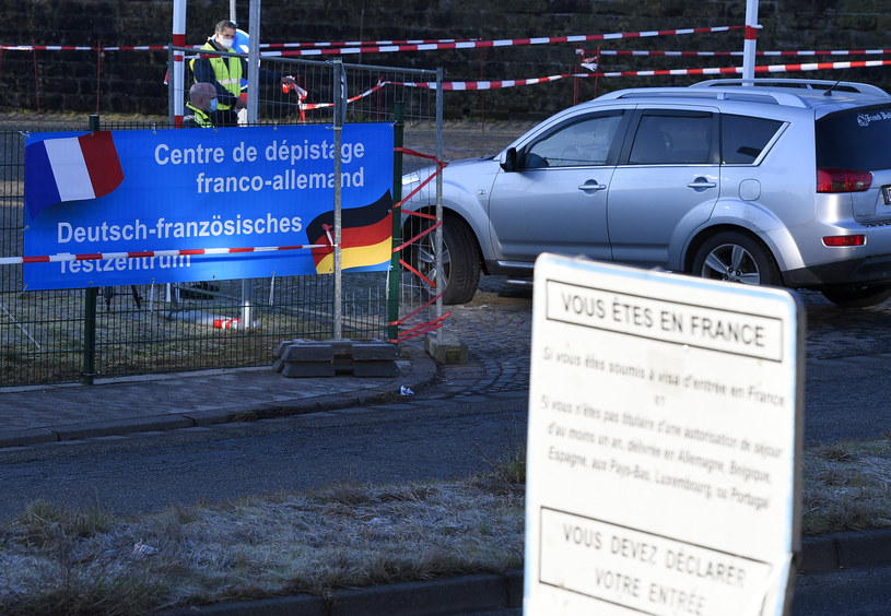 Granica niemiecko-francuska /JEAN CHRISTOPHE VERHAEGEN /AFP