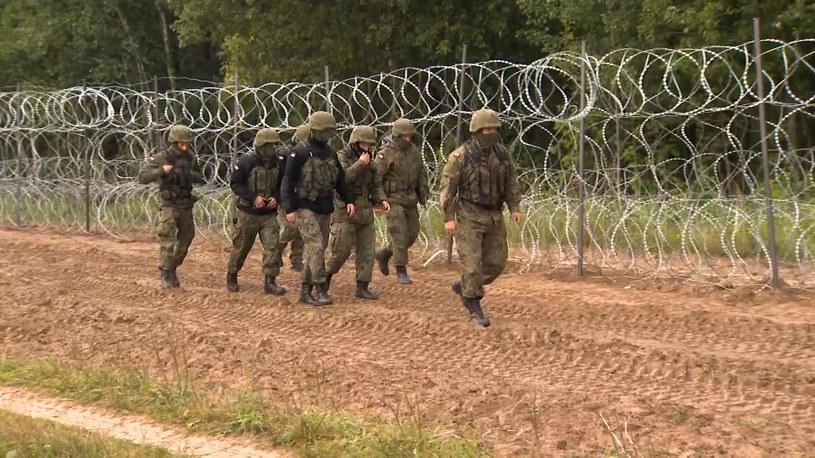 Granica państwa na Podlasiu /Polsat News /Polsat News
