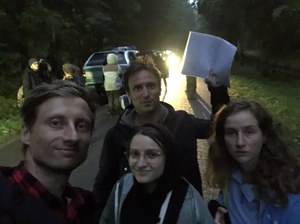 Granica polsko-białoruska. Franek Sterczewski: Znaleźliśmy dziewięcioro uchodźców