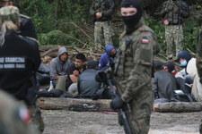 Granica polsko-białoruska: Uchodźcy od kilkunastu dni koczują w lesie. Straż Graniczna wyjaśnia