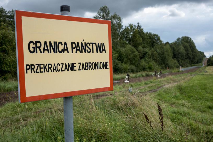 Granica polsko-białoruska, zdjęcie ilustracyjne /Mikolaj Kiemblowski /East News