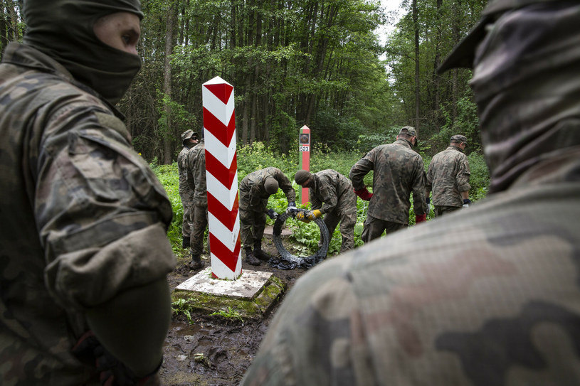 Granica polsko-białoruska /Marek Maliszewski  /Reporter