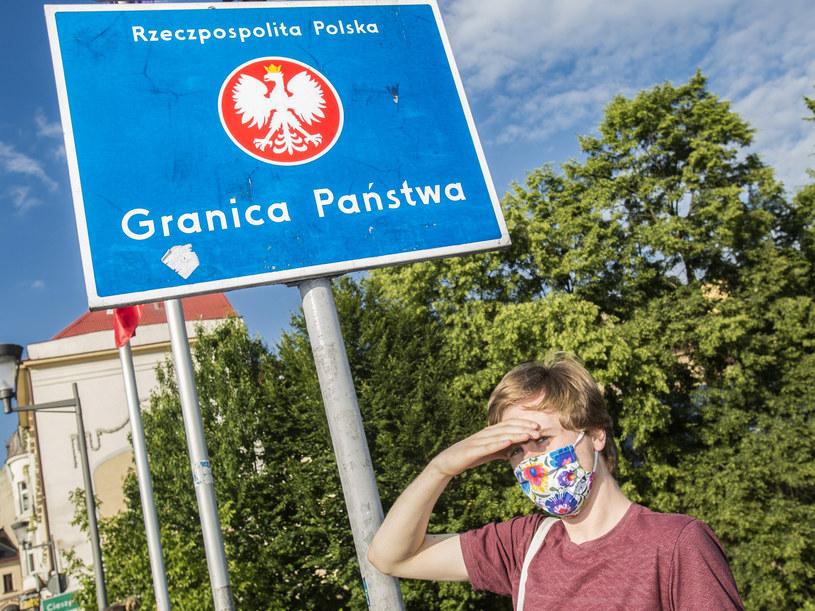 Granica polsko-czeska w Cieszynie /Marek M Berezowski/REPORTER /Reporter