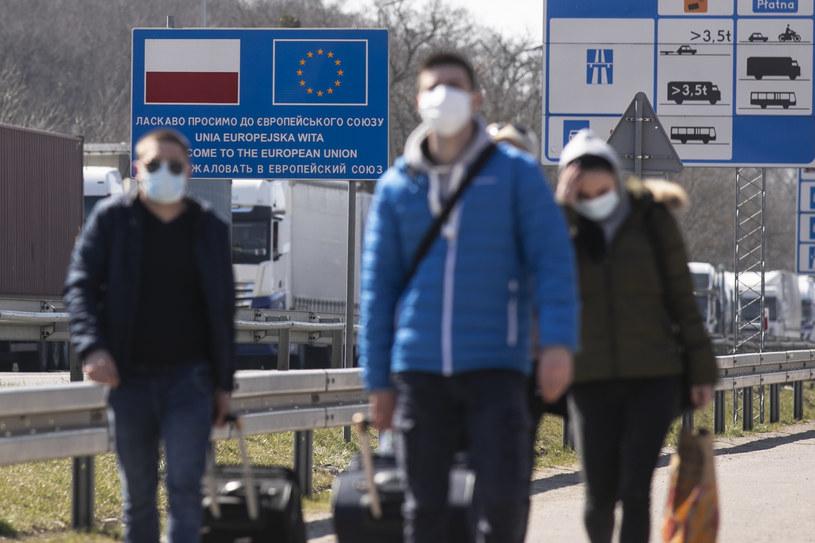 Granica polsko-ukraińska, zdj. ilustracyjne / Jacek Szydlowski  /Agencja FORUM