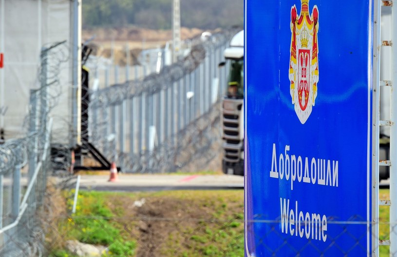 Granica serbsko-węgierska /AFP
