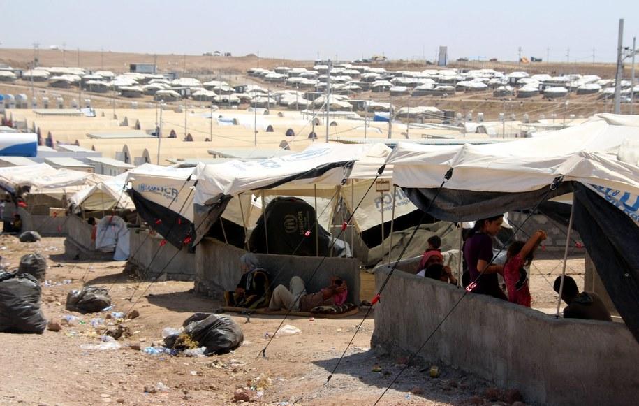Granica turecko-iracka, obóz uchodźców. /STR /PAP/EPA