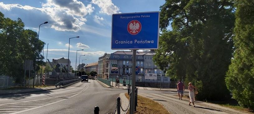 Granica w Gubinie. Fot. Katarzyna Kojzar/Marcel Wandas /