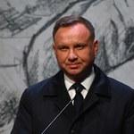 Granica z Białorusią. Prezydent w Wieluniu: Nie będę tolerował nieodpowiedzialnych zachowań
