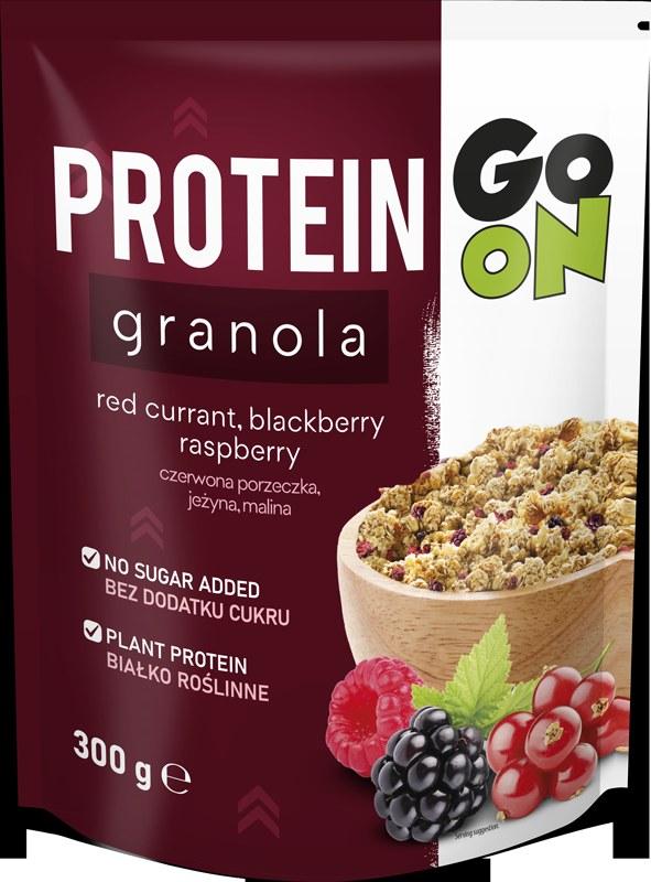 Granola proteinowa Go On to pierwszy taki produkt na polskim rynku /materiały prasowe