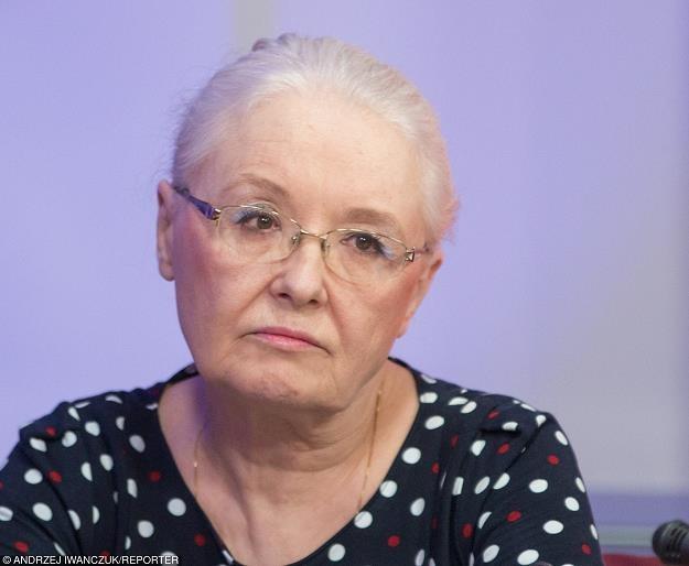 Grażyna Ancyparowicz została powołana do RPP, fot. Andrzej Iwanczuk /Reporter