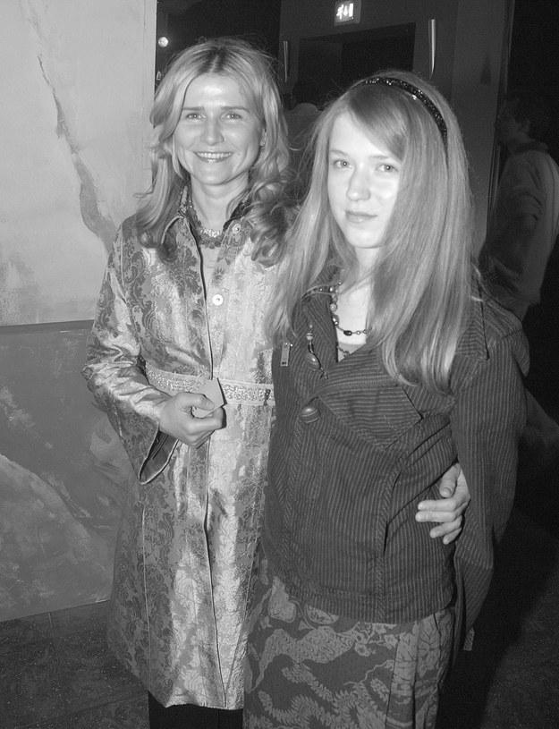 Grażyna Błęcka-Kolska z córką Zuzanną /Agencja FORUM