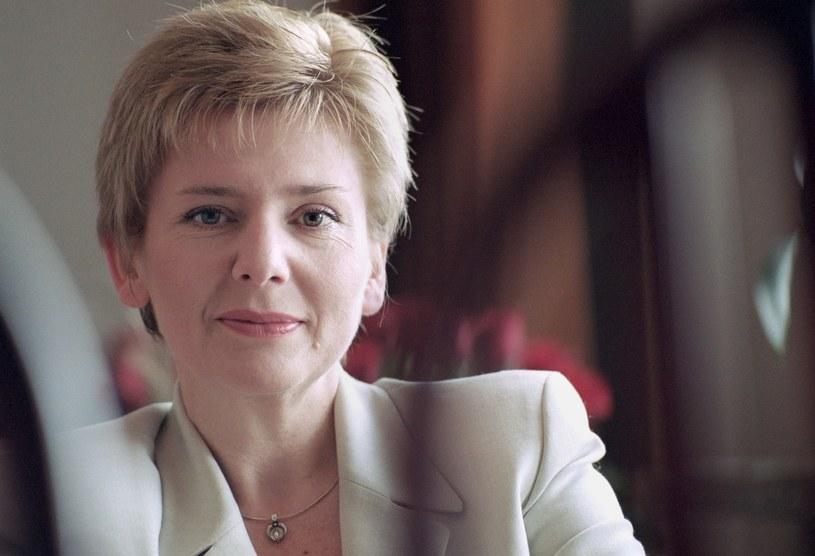 Grażyna Bukowska w 2001 roku /Artur Pawłowski/ Reporter /East News