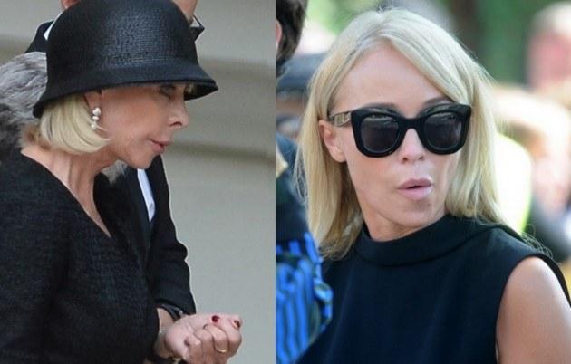Grażyna i Joanna trzymały się z dala /- /East News