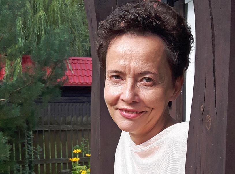 """Grażyna Jagielska, autorka książki """"Miłość z kamienia"""" /archiwum prywatne"""
