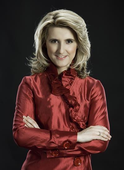 Grażyna Piotrowska-Oliwa w czasie prezesury w PGNiG /Informacja prasowa