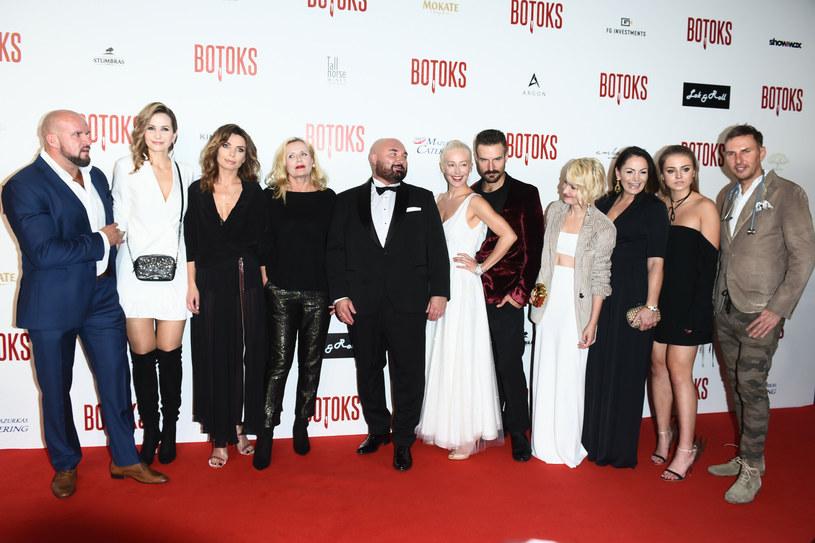 "Grażyna Szapołowska na premierze filmu ""Botoks"" / VIPHOTO/East News /East News"