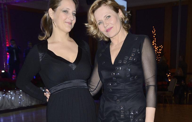 Grażyna Szapołowska z córką /Jarosław Antoniak /MWMedia