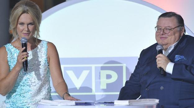 Grażyna Torbicka i Wojciech Mann zaprezentowali, co czeka nas jesienią 2012 w TVP / fot. Kurnikowski /AKPA