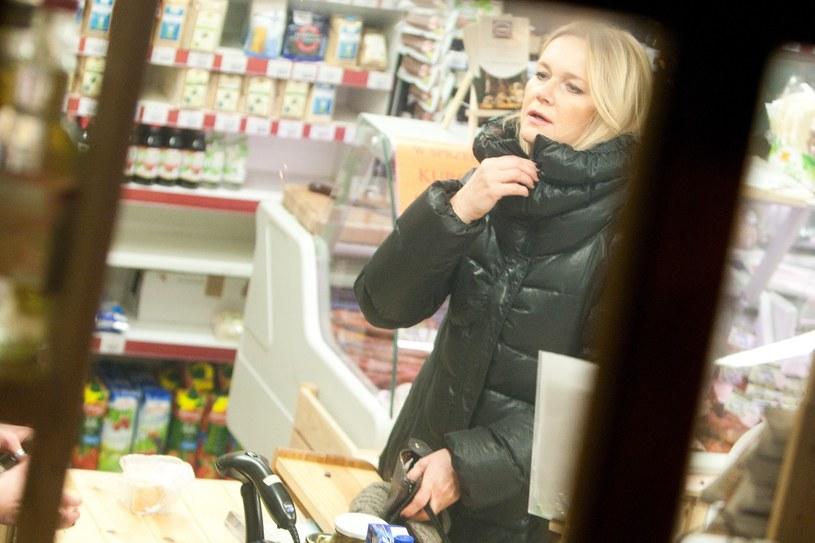 Grażyna Torbicka na zakupach /East News