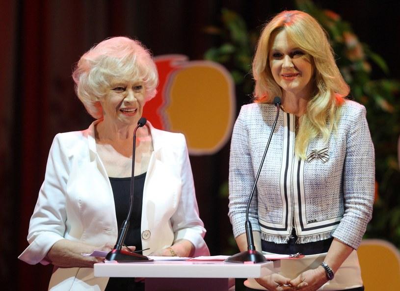 Grażyna Torbicka z mamą Krystyną Loską /- /East News