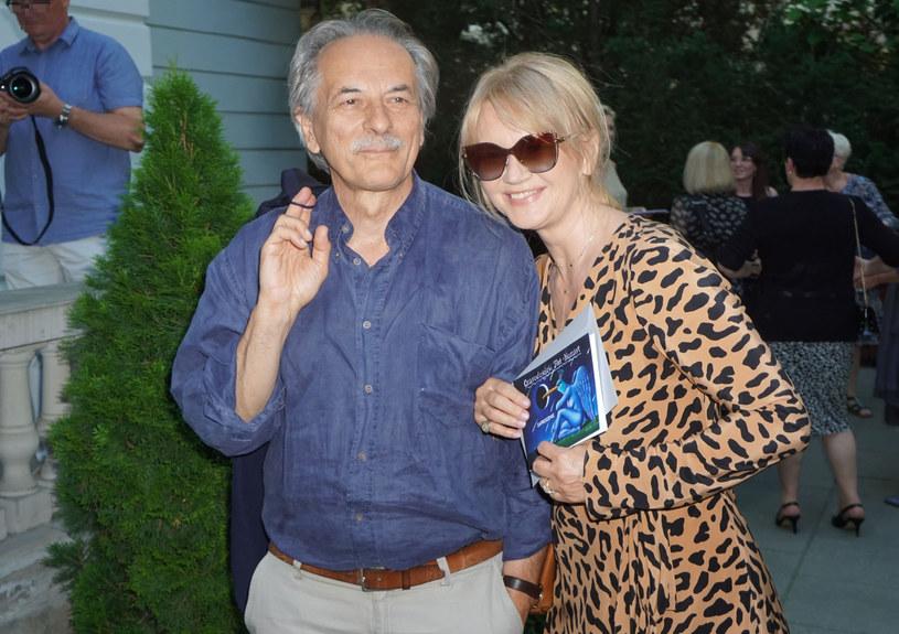 Grażyna Torbicka z mężem Adamem /East News
